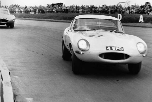 The 1963 Silverstone Lightweight E-type.