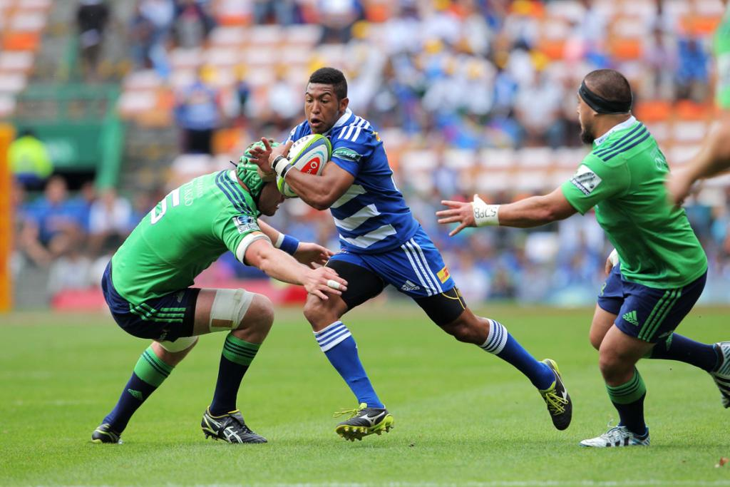 Kurt Coleman of the Stormers during the Super Rugby match between the Stormers and Highlanders.