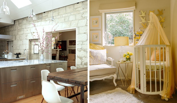 INTERIOR BEAUTY: Two of the 2013 Interior of the Year top achievers. Left, the winning kitchen and right, the winning creative space.