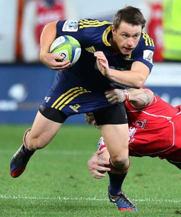SOUTHERN MAN: Fullback Ben Smith is one of just four Highlanders named in the 35-man All Blacks training squad.