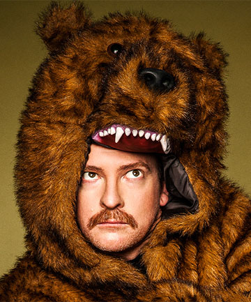 BEAR ESSENTIALS: Comedian Rhys Darby is Blenheim-bound as part of his Mr Adventure tour.