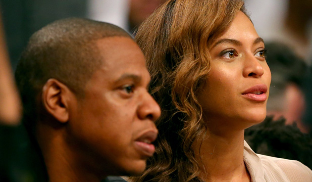 UNITED: Jay-Z and Beyonce waited several days before publicly commenting on the video.