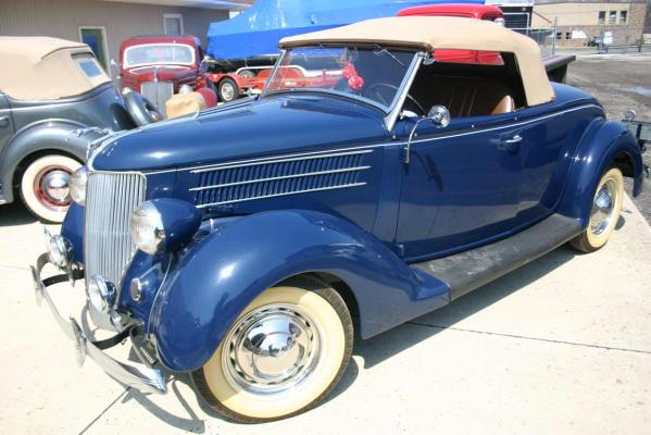 1936 Ford 2-door Roadster