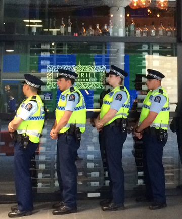 Police in Auckland