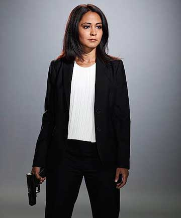 SCARY: Parminder Nagra plays CIA agent Meera Malik on The Blacklist.