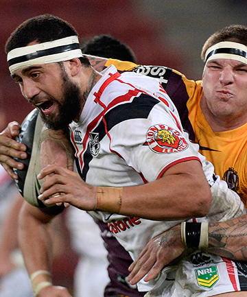WORK TO DO: Warrior Ben Matulino has been impressed with the Bulldogs' defence.