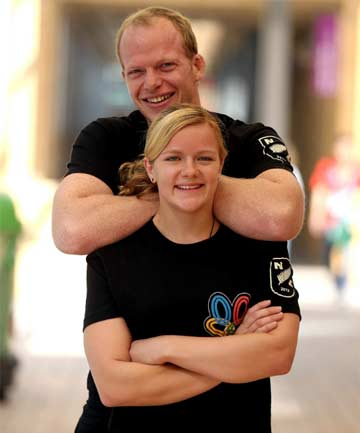 Jason Koster and Moira de Villiers