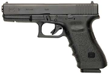 Two Glock pistols like this have been stolen from the New Plymouth courthouse.