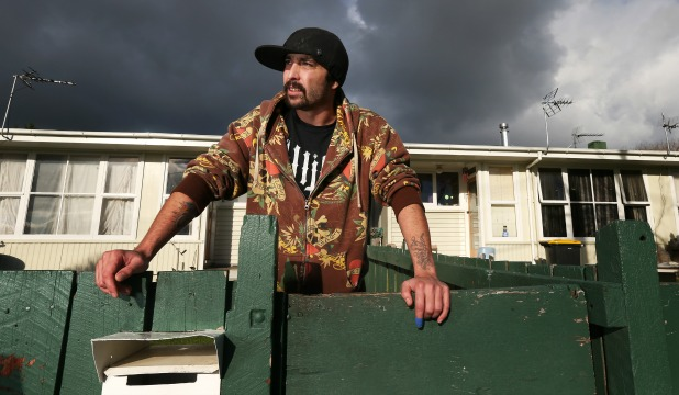 STRUGGLING: Damien Rahurahu lives in the most deprived area of the most deprived suburb in Christchurch but says there is more to his community than its reputation and statistics.