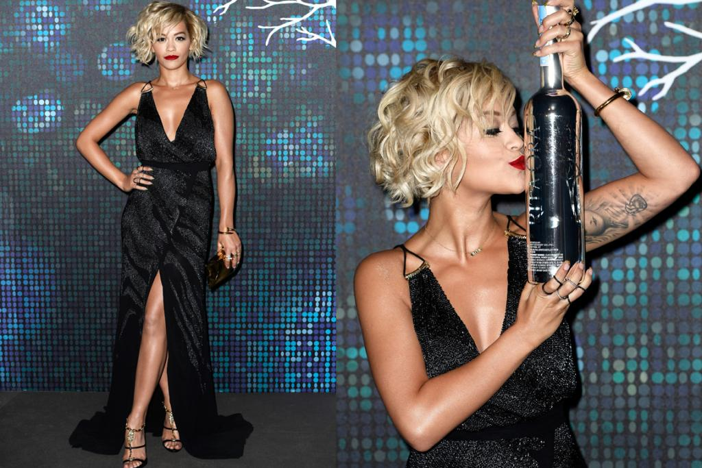 DAY THREE, THE DISAPPOINTING: We've seen Rita Ora pull off many a dramatic gown, but this black lurex (shudder) number is just plain dull. The excess fabric around the bosom area, the cheap looking pulley-strap detail and the front slit - it's all just a bit joe average. Full credit to her hair and makeup artist though - that's one killer messy bob.