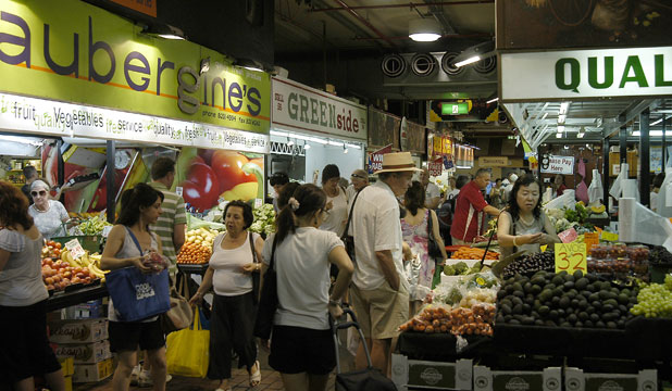 SENSATIONS GALORE: Adelaide Central Market in South Australia could provide ideas for a covered market in Christchurch as the earthquake rebuild progresses.