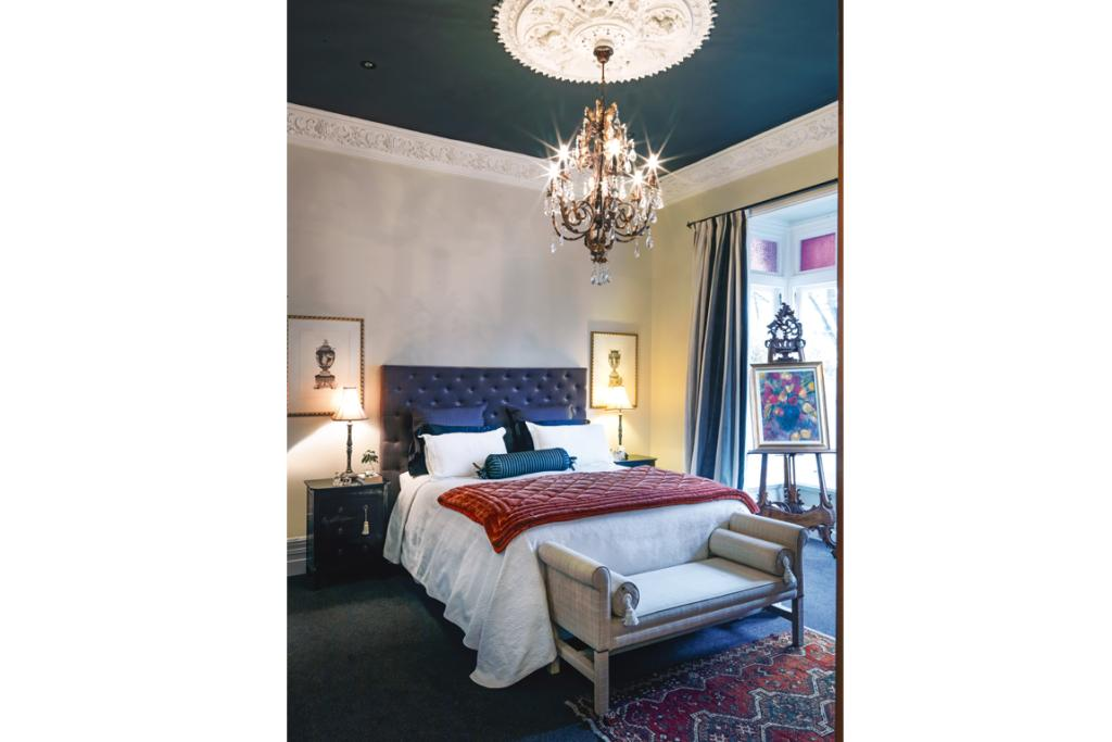 The bedroom was a winner in the NZ House & Garden Interior of the Year 2013 awards.