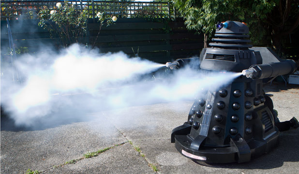 DAY OF THE DALEK: Kublai Khan, as he has been dubbed, possesses some frightening firepower.