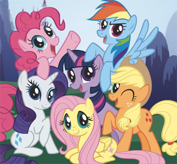 FROLICS AND FRIENDS: My Little Pony: Friendship is Magic.