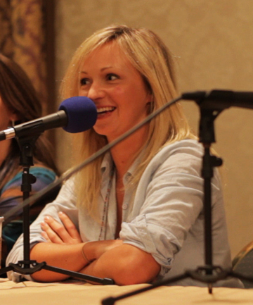 THE STAR: The voice of My Little Pony Ashleigh Ball.