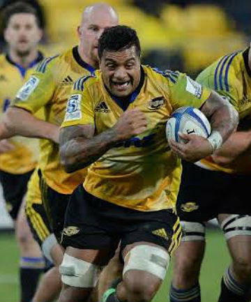 DONE DEAL: Hurricanes loose forward Faifili Levave has signed a two-year deal to play for the Toyota Verblitz club in Japan