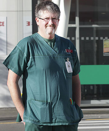 """UNDER ATTACK: """"There are mentally ill patients, others are under the influence, and some people are just arseholes"""" - Paul Quigley, Wellington Hospital emergency medicine specialist."""
