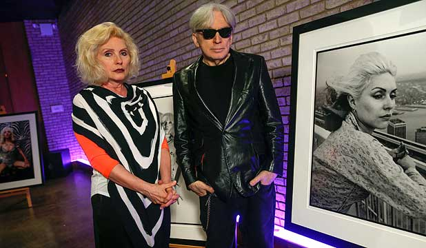 Blondie and Chris Stein