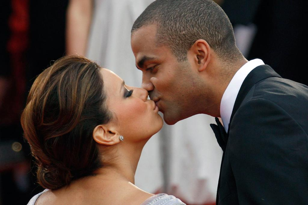 EVA & TONY: The American actress and French basketball player had an epic Parisian wedding.