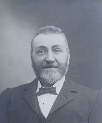 EARLY LEADER: Edward George Kerr bought The Timaru Herald in 1887.