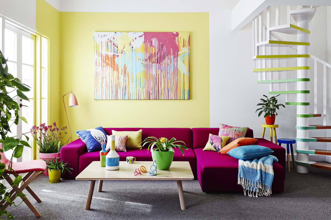 How to add colour to your home