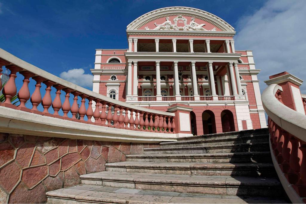 The Amazonas Theatre is one of the main tourist spots of the city.