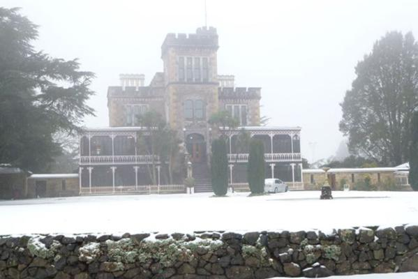 Snow at Castle
