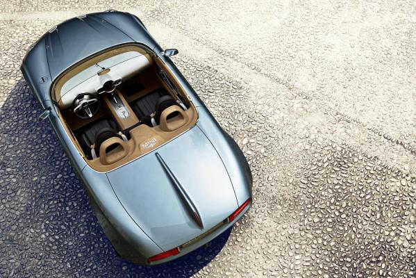 Mini Superleggera Vision concept.