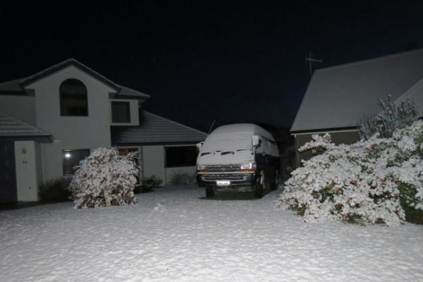 Snow in Wanaka