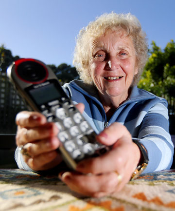 SYMPATHETIC EAR: Olwyn Thomas is hanging up the phone after 23 years with Lifeline Taranaki.