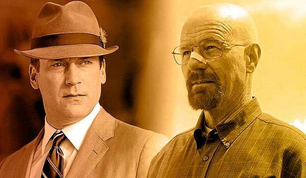 LOSS OF THE GREATS:  Characters like Don Draper and Walter White are hard to let go of.