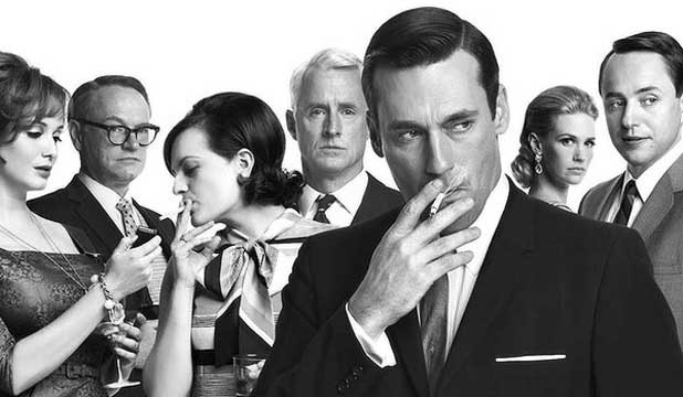 LAZY WRITING? Let's hope Peggy Olson and Don Draper won't end up together.