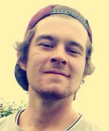 CRASH DRIVER: Cameron Presland, 20, has been discharged from hospital.