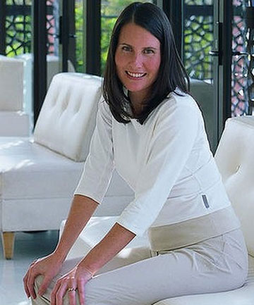 SPA QUEEN: Lyndall Mitchell at the Prince Hotel, St Kilda.