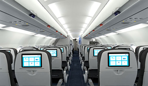 Jetblue airline cabin