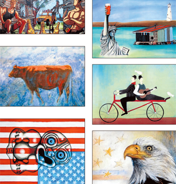 YOU CHOOSE: The public can now vote for their favourite artwork from the six finalists