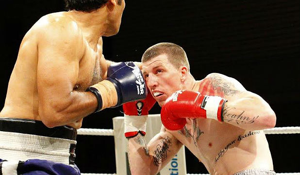 TIME TO STEP UP: Kiwi fighter Joe Blackbourn must make the most of his pay-TV debut.