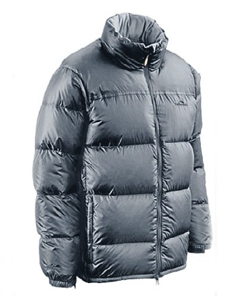 KEEPING COSY: Burglars stole a bunch of puffer jackets from Kathmandu.