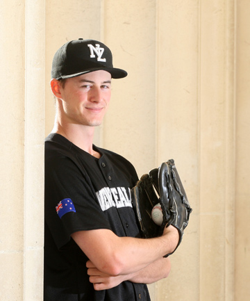 PITCHING IN: The US college team of 18-year-old New Zealand Diamondblacks hurler Makauley Fox is off to the NCAA baseball playoffs.