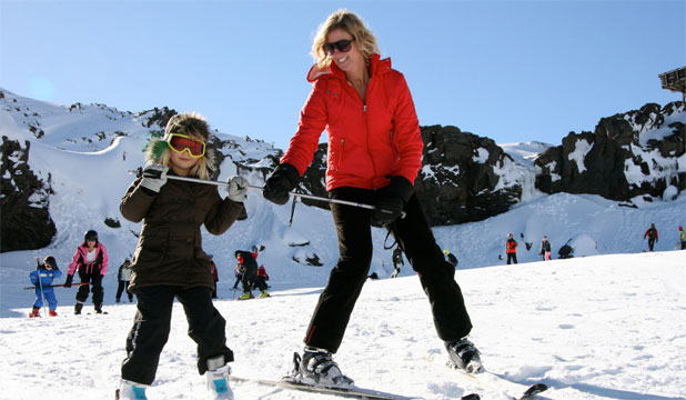 CHEAPER OPTION: Consider delaying the family snow holiday until spring when prices are cheaper.