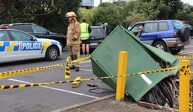 Car accident, Transformer