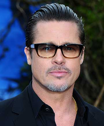 ATTACKED: Brad Pitt has been attacked at the premiere of Maleficent.