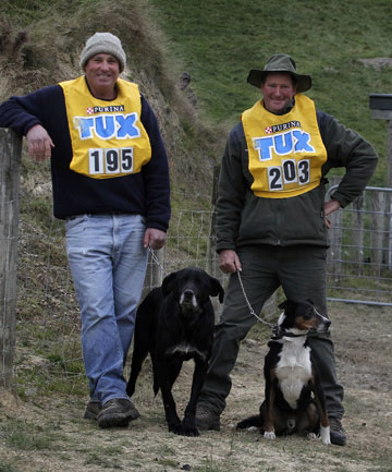 Sheep Dog Trial Championships competitors