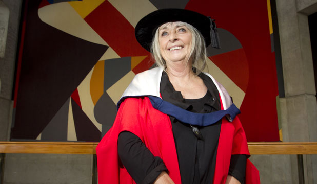 WOW FACTOR: Dame Suzie Moncrieff's contribution to the World of WearableArt was recognised with an honorary doctorate from Massey University at a graduation ceremony yesterday.