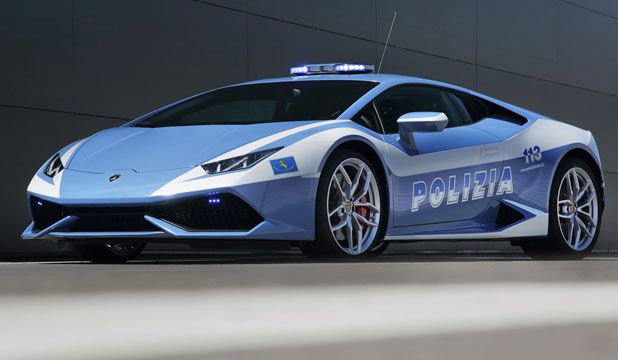 cop this lambo supercar donated to police. Black Bedroom Furniture Sets. Home Design Ideas