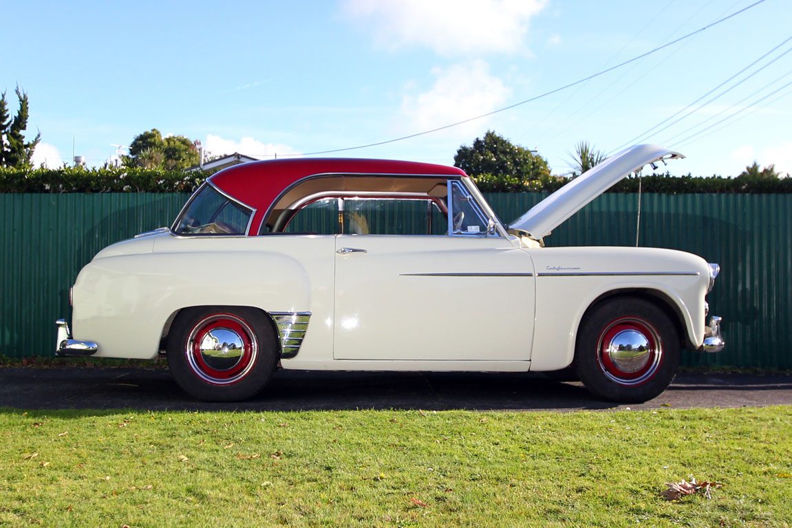Joe Fraser's 1955 Hillman Californian