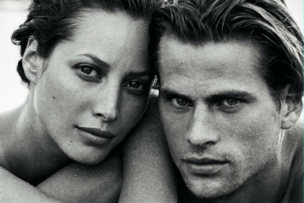 THE ORIGINAL: Christy and Mark Vanderloo in the original campaign.