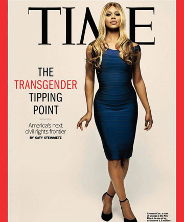 ON THE COVER: Laverne Cox is the first transgender person on the cover of Time magazine.