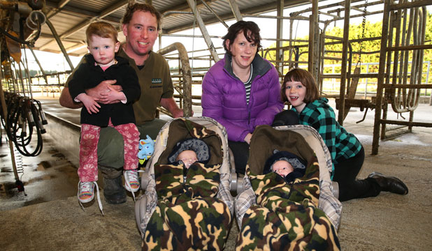 MOVING ON: The Tatham family are shifting from Tisbury to Mataura Island, near Wyndham.