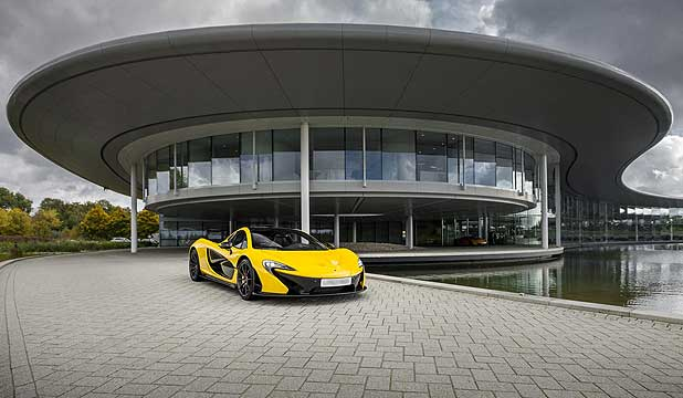 McLaren headquarters.